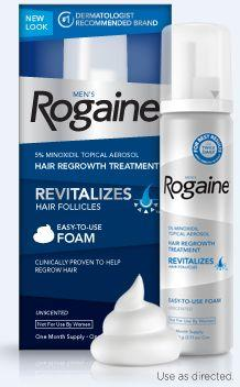 Rogaine Foam, Generic Minoxidil Foam, Rogaine for Women