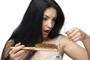 sudden hair loss in women