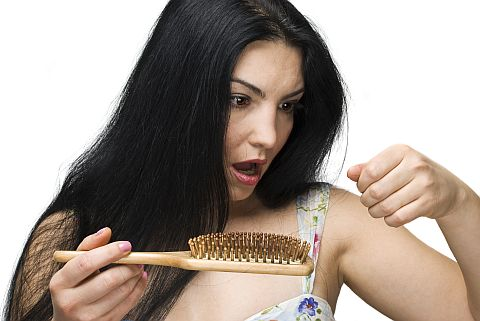 sudden hair loss in women